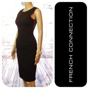 Sexy & Fitted Lace Back Dress By French Connection